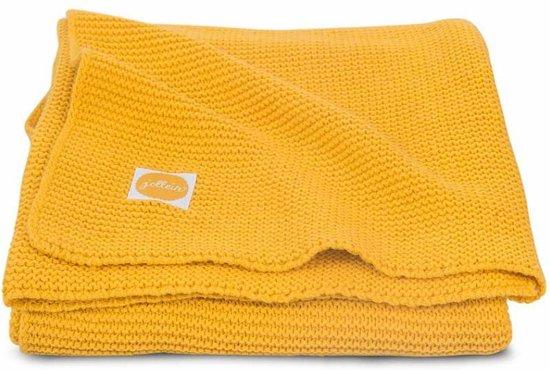 Jollein Basic knit Deken - 100x150cm Ocher
