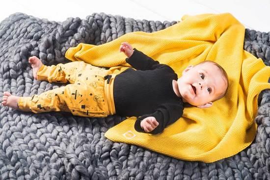 Jollein Basic knit Deken 100x150cm ocher