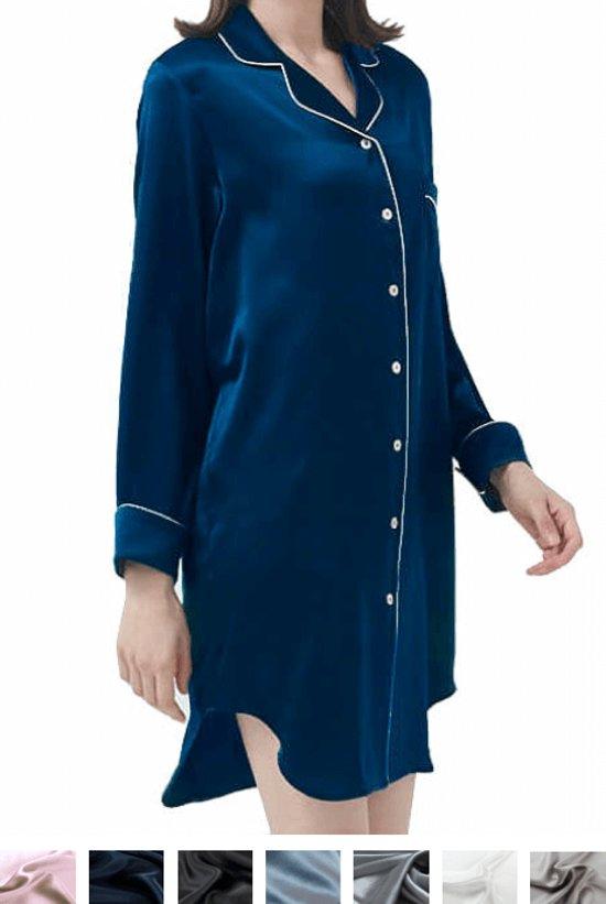 detailed look a20ff 85081 Dames Zijden nachthemd/ zijden pyjama 100% zijde