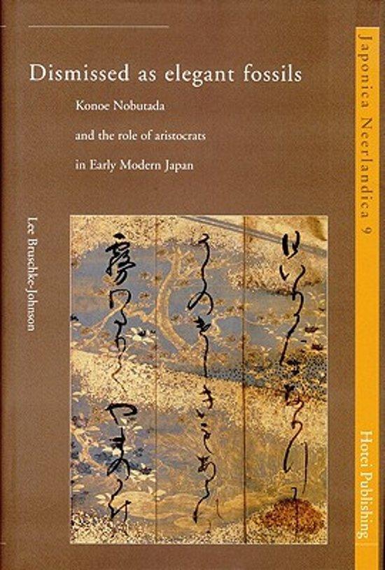 Cover van het boek 'Dismissed as elegant fossils / druk 1'
