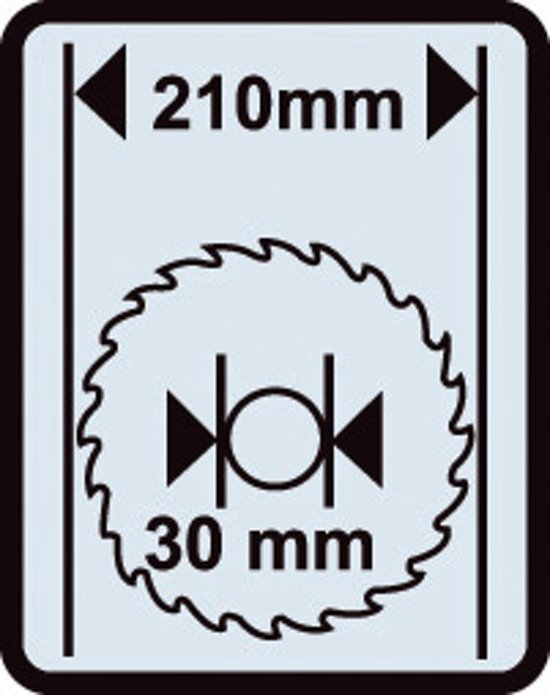 Skil 1131AA Afkortzaag - 1300 Watt - Inclusief hardmetalen zaagblad, verticale klem, stofzak en achterste steun