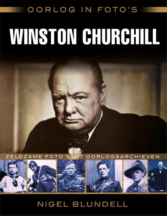 Oorlog in foto's - Winston Churchill