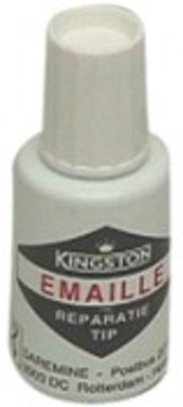 Plieger Emaille-tip Reparatielak - Wit