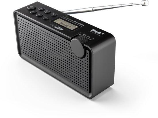 Caliber HPG334DAB/B - Draagbare Dab+  en FM radio  - Zwart