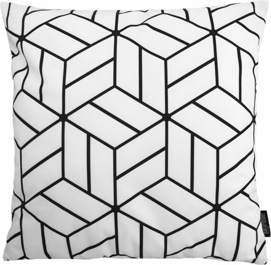 White Cube Kussenhoes | Katoen / Flanel | 45 x 45 cm