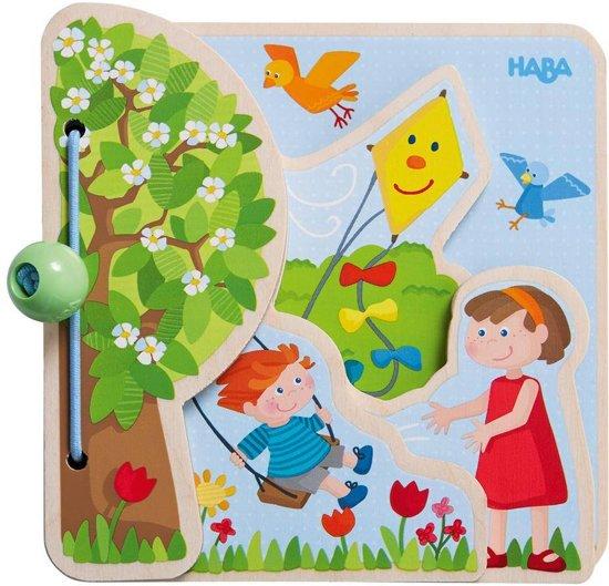 Haba Babyboekje Babyspeelgoed De seizoenen