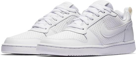 Nike Wmns Court Borough Low 844905 110 Sneakers Dames Maat 37.5 WhiteWhite White