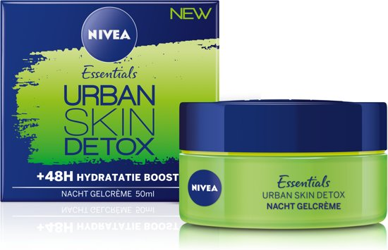 NIVEA Essentials Urban Skin Nachtcrème - 50 ml