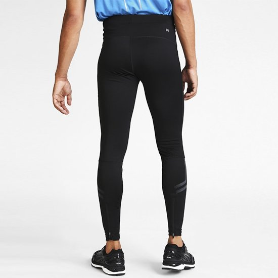 Asics Icon tight heren zwart/antraciet