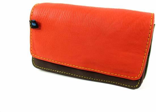 60f133d9713 bol.com | Maii leren multi Color portemonnee rood