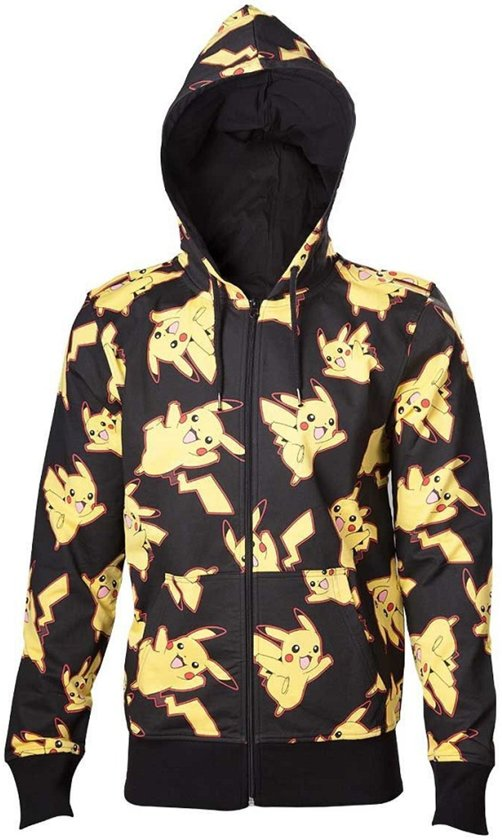 Hoodie All Xl PokémonPikachu Print Over 3R4LAjq5