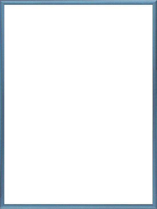 Homedecoration Almelo – Fotolijst – Fotomaat – 25 x 77 cm – Staal blauw