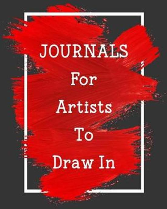 Journals For Artists To Draw In