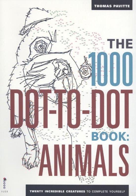 1000 Dot to Dot Animals - Thomas Pavitte