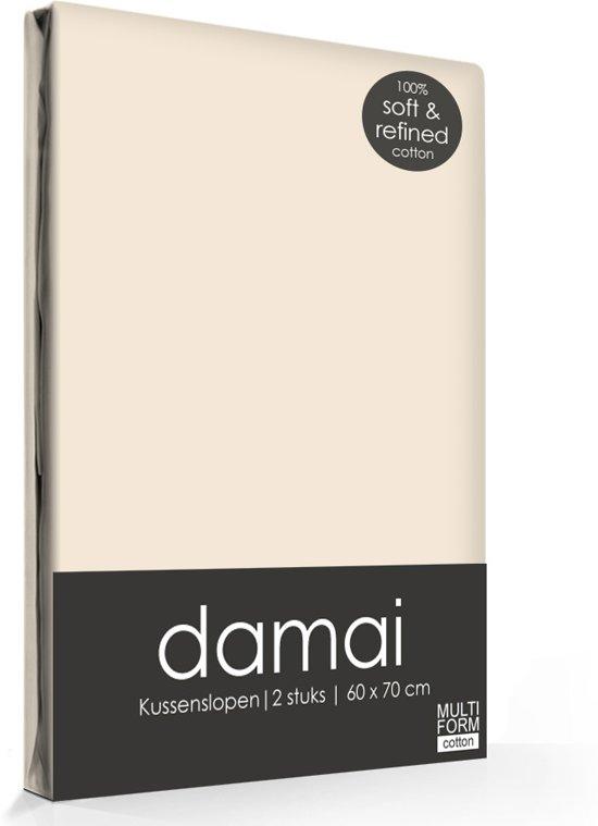 Damai - Kussensloop - 60 x 70 cm - Taupe - 2 stuks