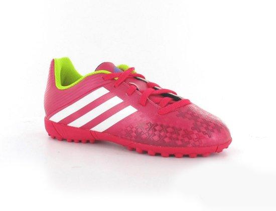 ad399f72593 adidas Predito LZ Indoor Junior - Voetbalschoenen - Kinderen - Maat 28 -  Roze;Geel