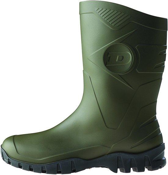 Bottes En Pvc Bottes De Sécurité Dunlop S5 Bottes En Caoutchouc S5 - Olive, Taille: 44