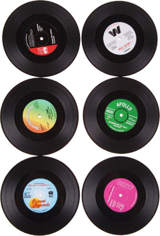 LP | Vinyl Onderzetters 6 stuks
