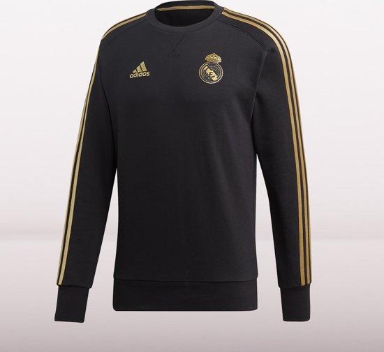 ADIDAS Real Madrid Trainingstop 2019-2020 Heren - Zwart - Maat XL