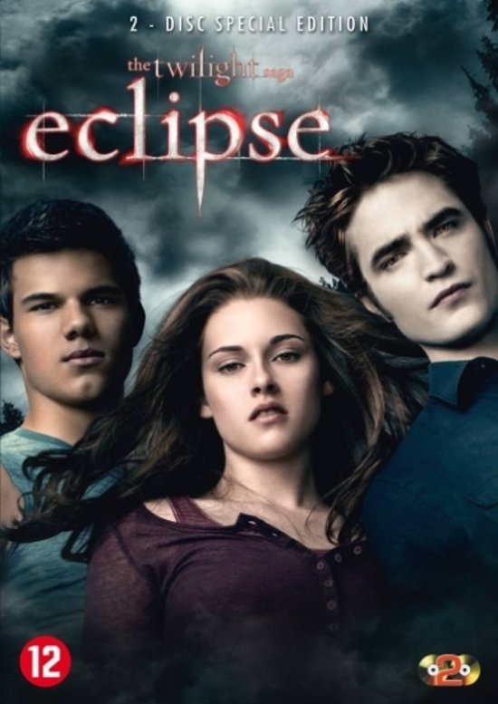 DVD cover van Twilight Saga: Eclipse (Special Edition)