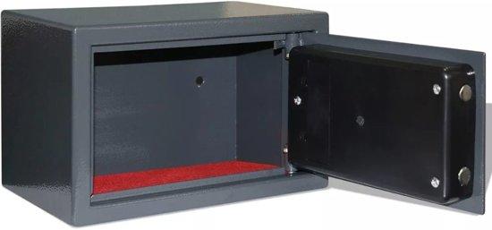 vidaXL Elektronische digitale kluis 31 x 20 x 20 cm
