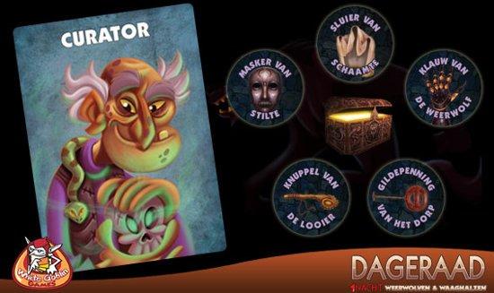 Thumbnail van een extra afbeelding van het spel 1 Nacht Weerwolven & Waaghalzen: Dageraad