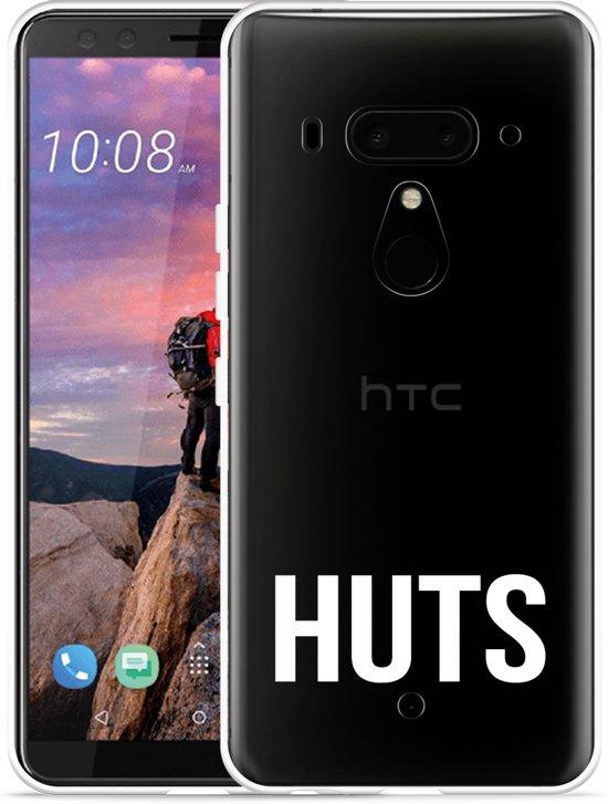 HTC U12 Plus Hoesje Huts wit