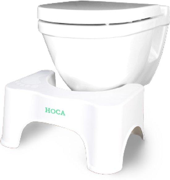 Toiletkruk voor een soepelere stoelgang door een natuurlijke hurkhouding - helpt bij aambeien, obstipatie, opgeblazen gevoel en andere darmklachten..