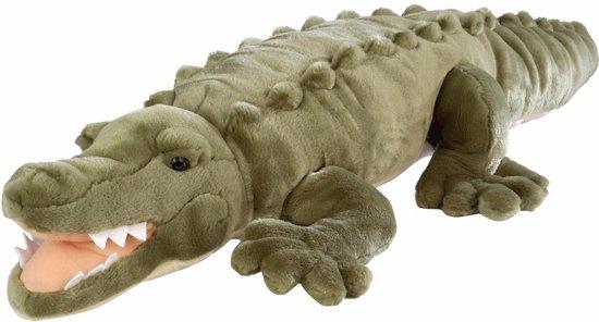 Zoetwater krokodil knuffel 76 cm