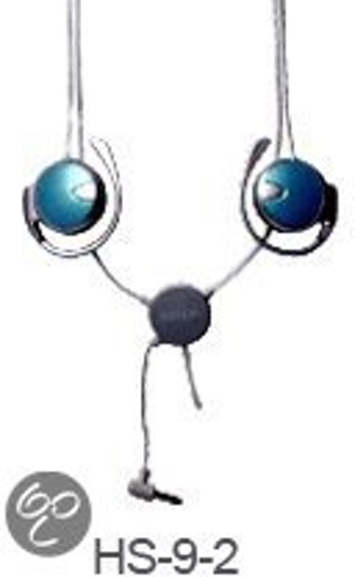 Necklace MP3 InMotion Headset, blue color