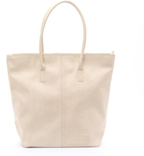Zebra Trends Natural Bag Kartel - met Rits - Snake White