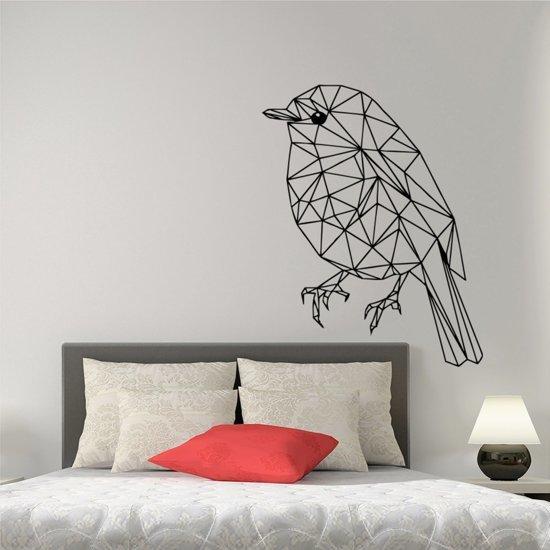 bol.com | Muursticker vogel geometrisch | woonkamer - slaapkamer ...