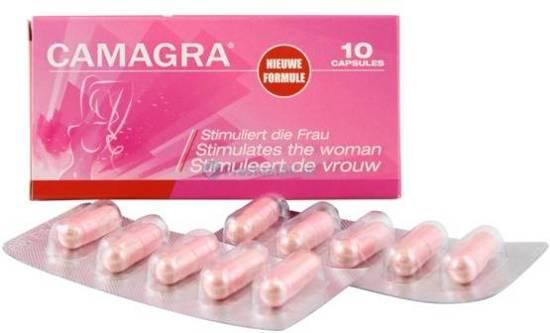 Camagra vrouw 8 tabletten