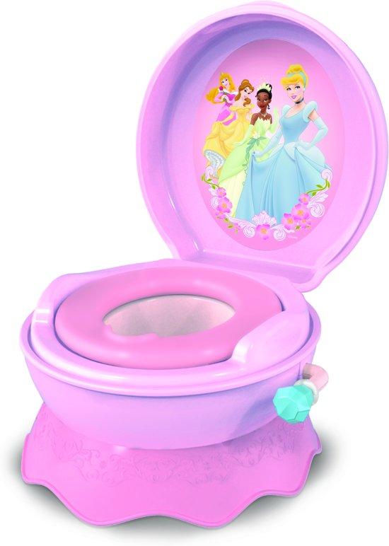 Potje En Wc Verkleiner.Disney Princess 3 In 1 Toilettrainer Potje Opstapje En Wc Verkleiner In 1