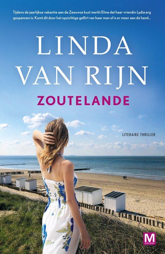 Boek cover Zoutelande van Linda van Rijn (Onbekend)