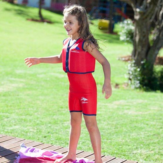 Konfidence - Zwemvest/Drijfvest kind - Rood - 1,5-3 jaar / 12-20 kg