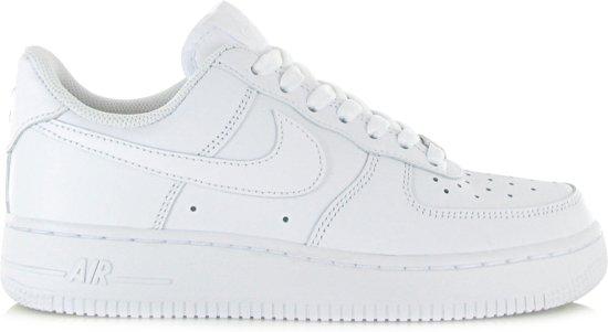 Nike Air Force 1 (gs), Chaussures De Sport Pour Les Garçons, Blanc, 38,5