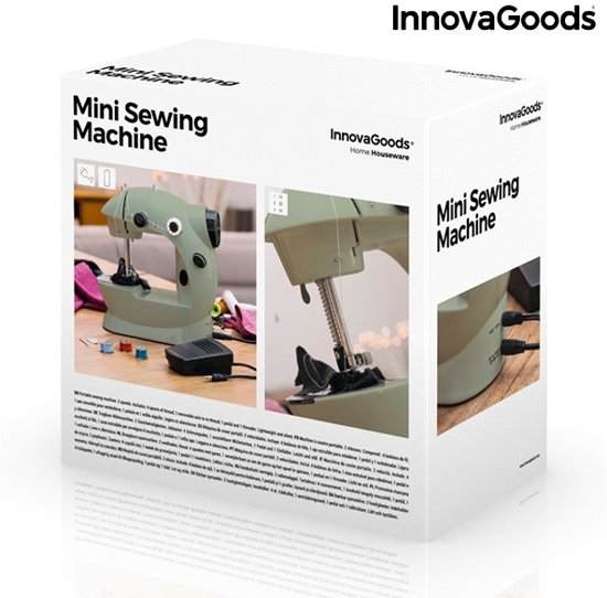 InnovaGoods Mini Naaimachine