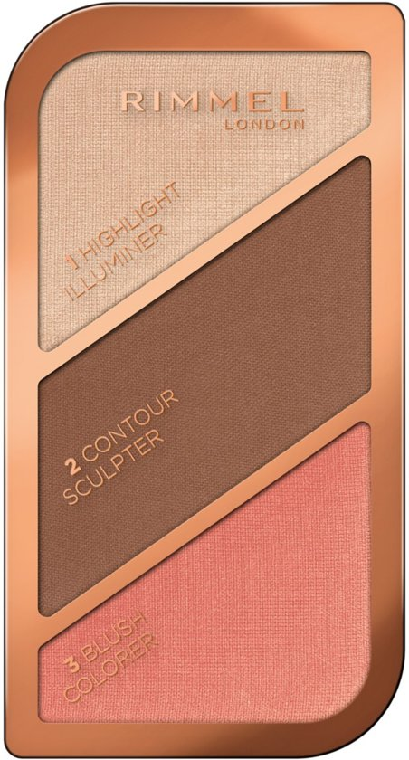 Rimmel London Kate Sculpting Kit - 003 Dark - Bronzingpoeder en blush