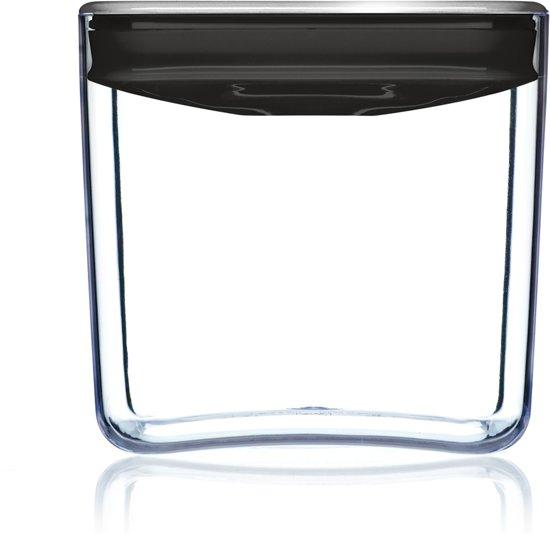 ClickClack Vershoudbox Pantry Cube - 1.9 Liter - Zilverkleurig
