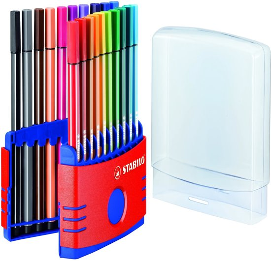 STABILO Pen 68 Colorparade - Etui 20 Stuks