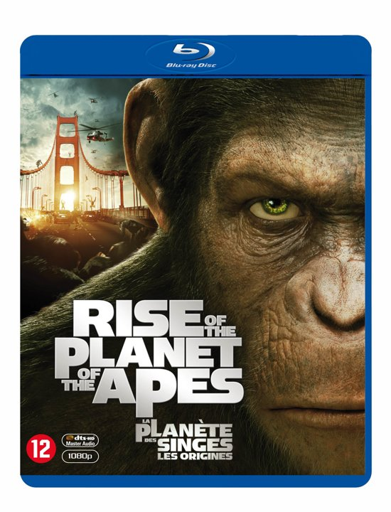 DVD cover van Rise Of The Planet Of The Apes (Blu-ray)