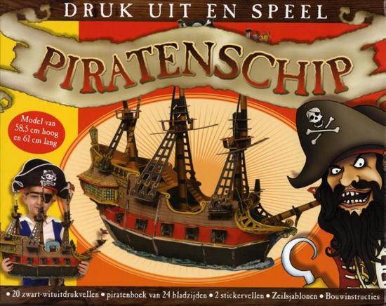 Het piratenschip bouwdoos