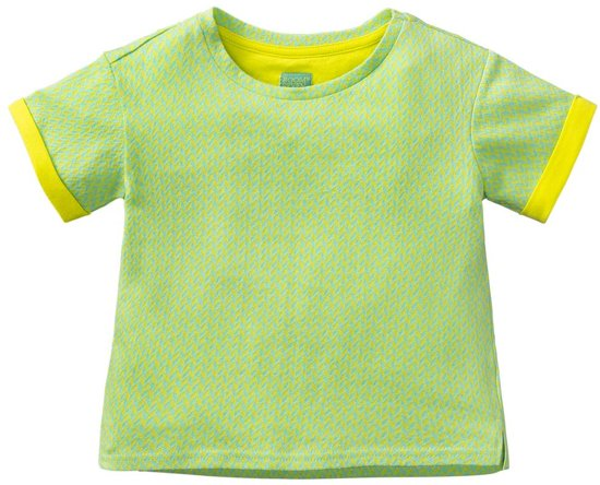 Haco sweat T-shirt groen chevron