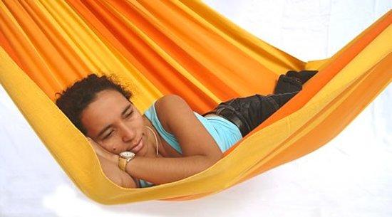 Hangmat Sunshine XL met spreidstok