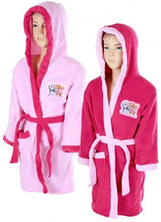 Paw Patrol roze badjas maat 110/116 - 5/6 jaar