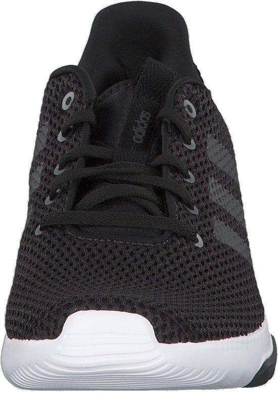 adidas - Cloudfoam Racer Tr - Sneaker runner - Heren - Maat 42 -  Zwart;Zwarte - Utility Black F16/Cblack/Ftwwht