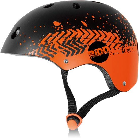 RiDD Skull Helm verstelbaar - zwart