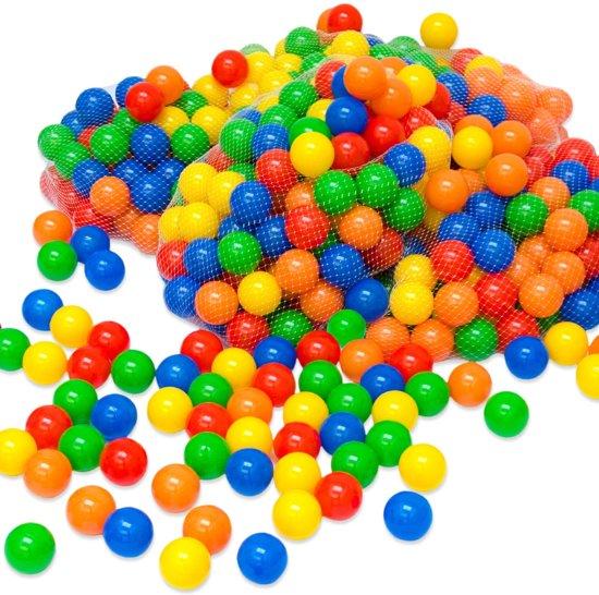 100 Kleurrijke ballenbadballen 5,5cm   plastic ballen kinderballen babyballen   kinderen baby puppy