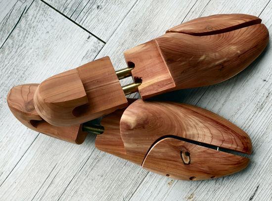 Exclusiv Cedar - 1 paar Ceder houten luxe schoenspanners maat 44 / 45